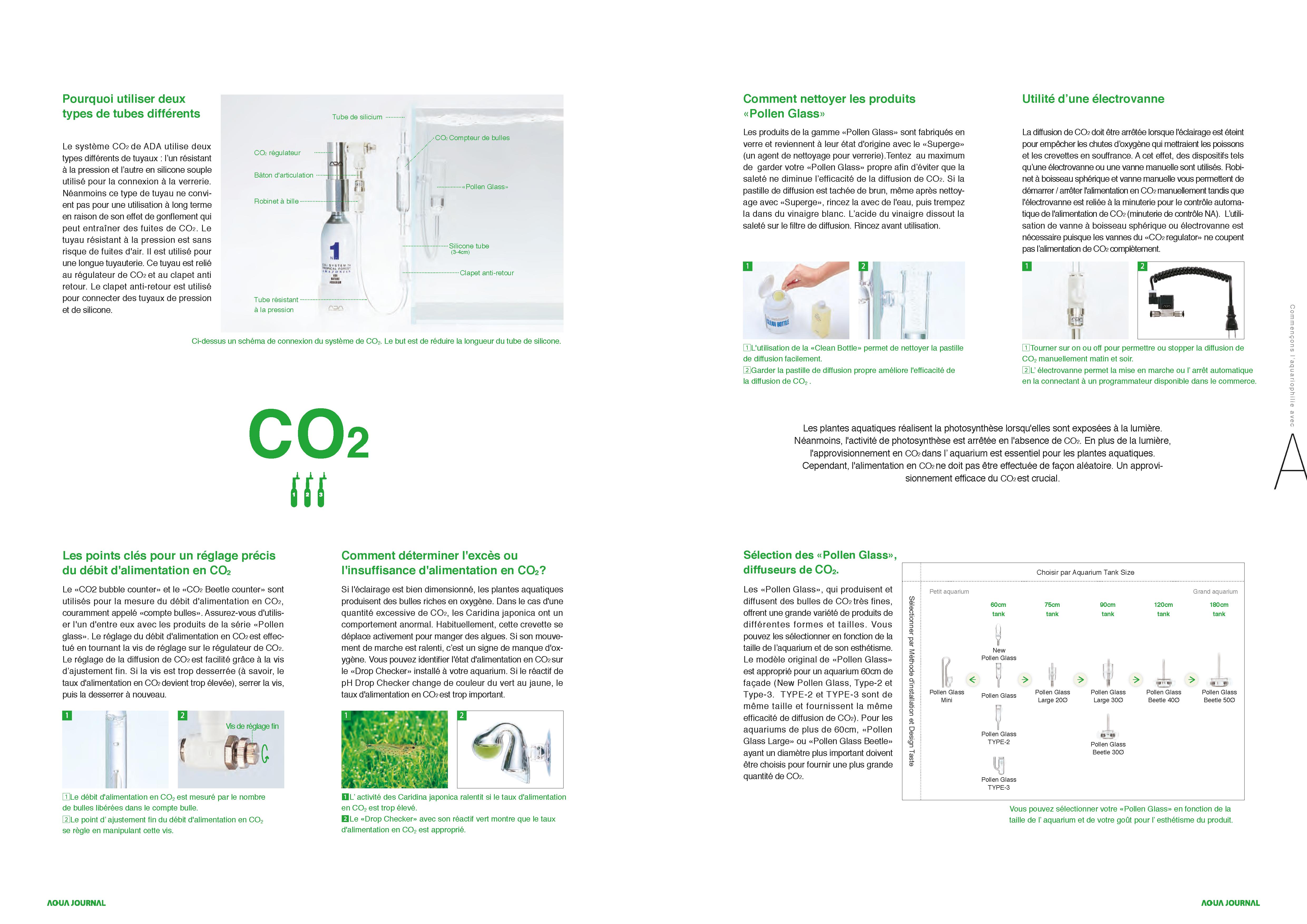 Aqua Design Amano - Fertilisation CO2